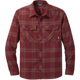 Outdoor Research Sandpoint Flannel LS Shirt Men madder plaid